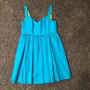 Turquoise dress from Scoop NYC